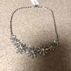 Talbots Crystal Necklace NWT